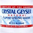 クリスタルガイザー/Crystal Geyser